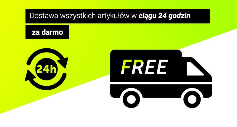 Dostawa gratis w 24 godziny